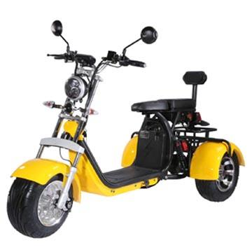 "Elektric Chopper® Yellow 45km/h Model: ""CP-3"""