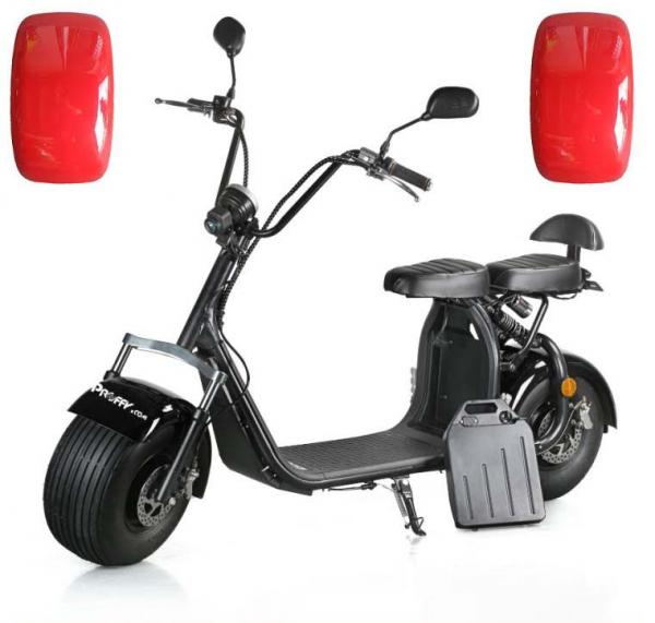 "Electric Chopper® Piros 40km / h modell: ""LT-018"""