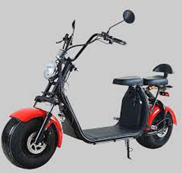 "Electric Chopper® Piros 35km / h modell: ""C07A"""