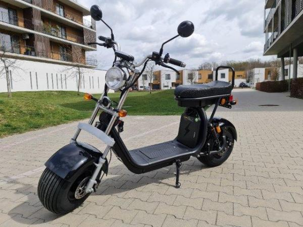 "Elektric Chopper® Fekete3 45km/h Model: ""CP-1"""