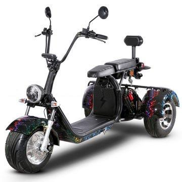 "Electric Chopper® Fekete 45km / h modell: ""CP-3"""