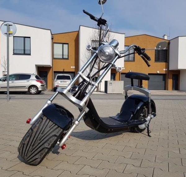"Electric Chopper® Fekete 45km / h modell: ""DG-SC14"""