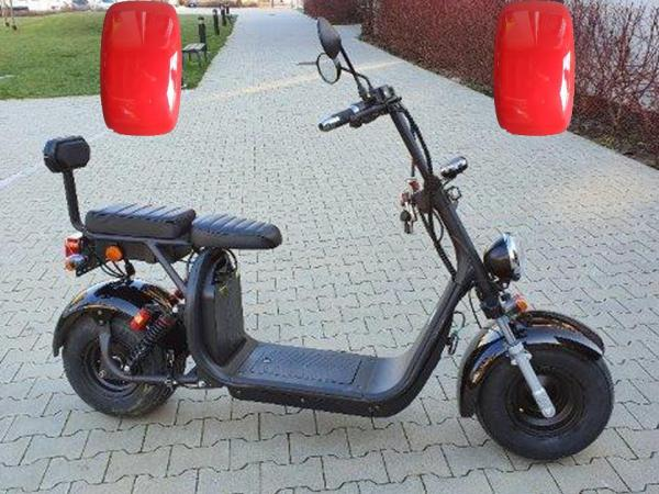 "Electric Chopper® Piros 45km / h modell: ""CP-1"""