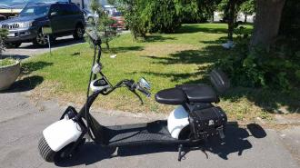 Electric HARLEY 21  48V   35km/h  80km