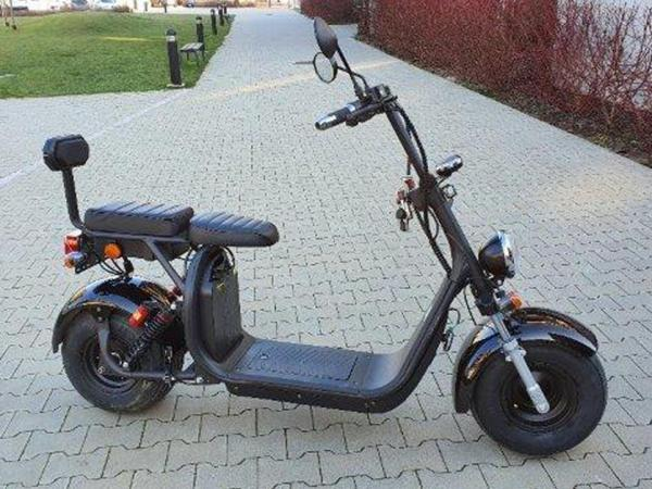 "Electric Chopper® Fekete 45km / h modell: ""CP-1"""