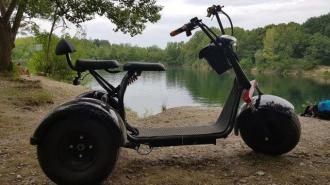 Elektomos HARLEY 65  60V tricycle 30km/h 200km