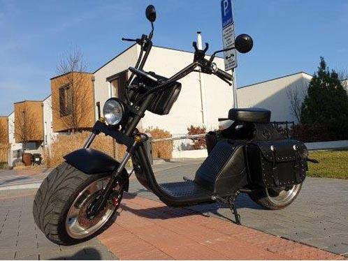 "Elektric Chopper® Fekete 45km/h Model: ""HL 3.0"""