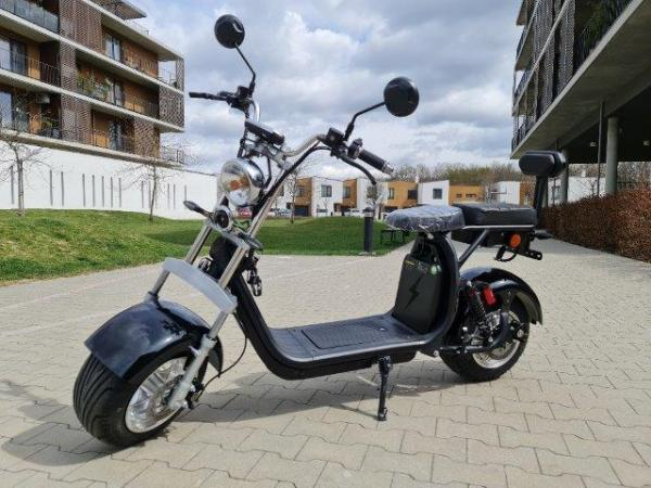 "Electric Chopper® Fekete2 45km / h Modell: ""CP-1"""