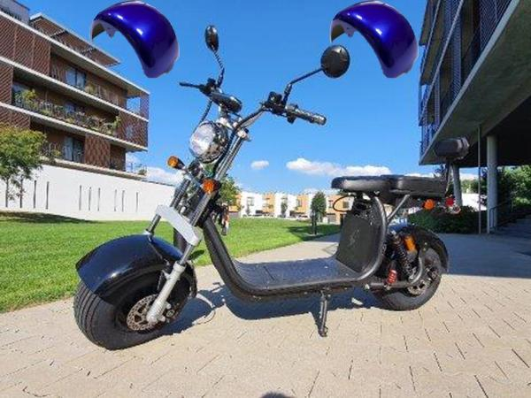 "Elektric Chopper® Kék2 45km/h Model: ""CP-1"""