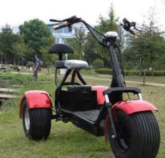 Elektromos Chopper 66 60V tricycle 20km/h 200km ML-SC09
