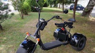Elektomos HARLEY 64  60V tricycle 30km/h 120km