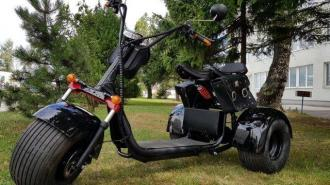 Elektomos HARLEY 66  60V ML-SC09 tricycle    40km/h  80km